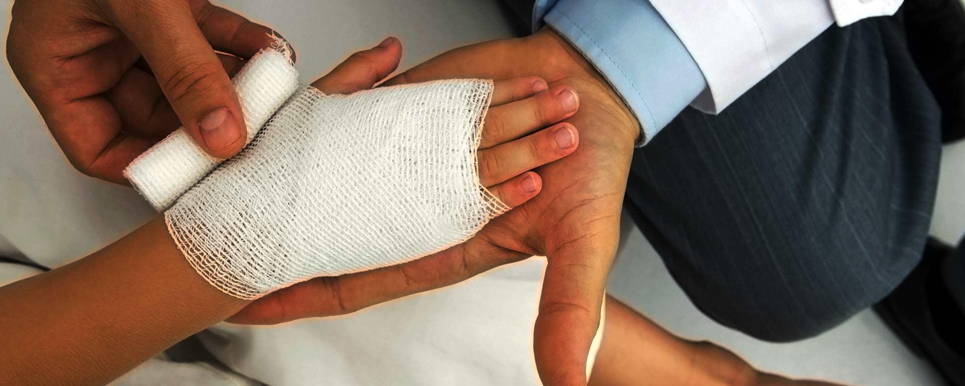 داروی درمان زخم و سوختگی <span>رباسین</span>
